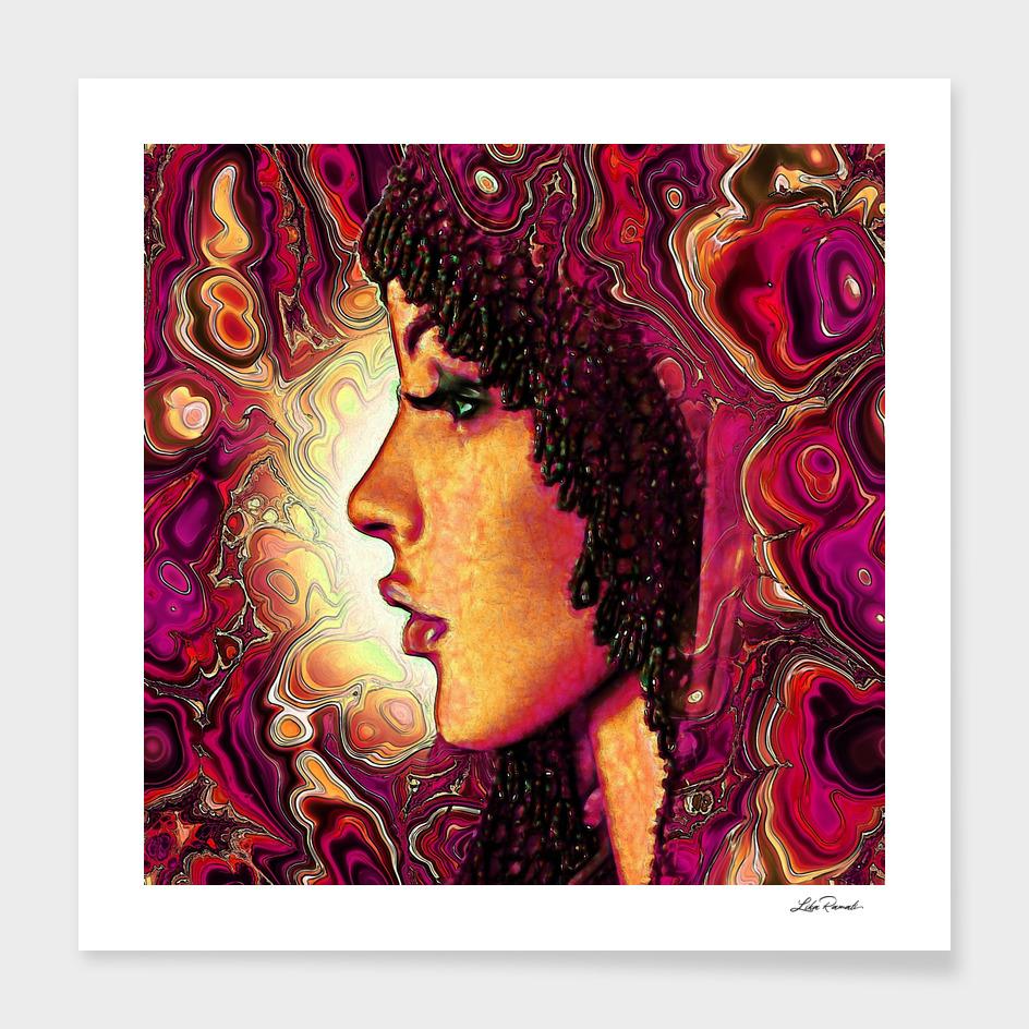 Purple Orient by Lika Ramati