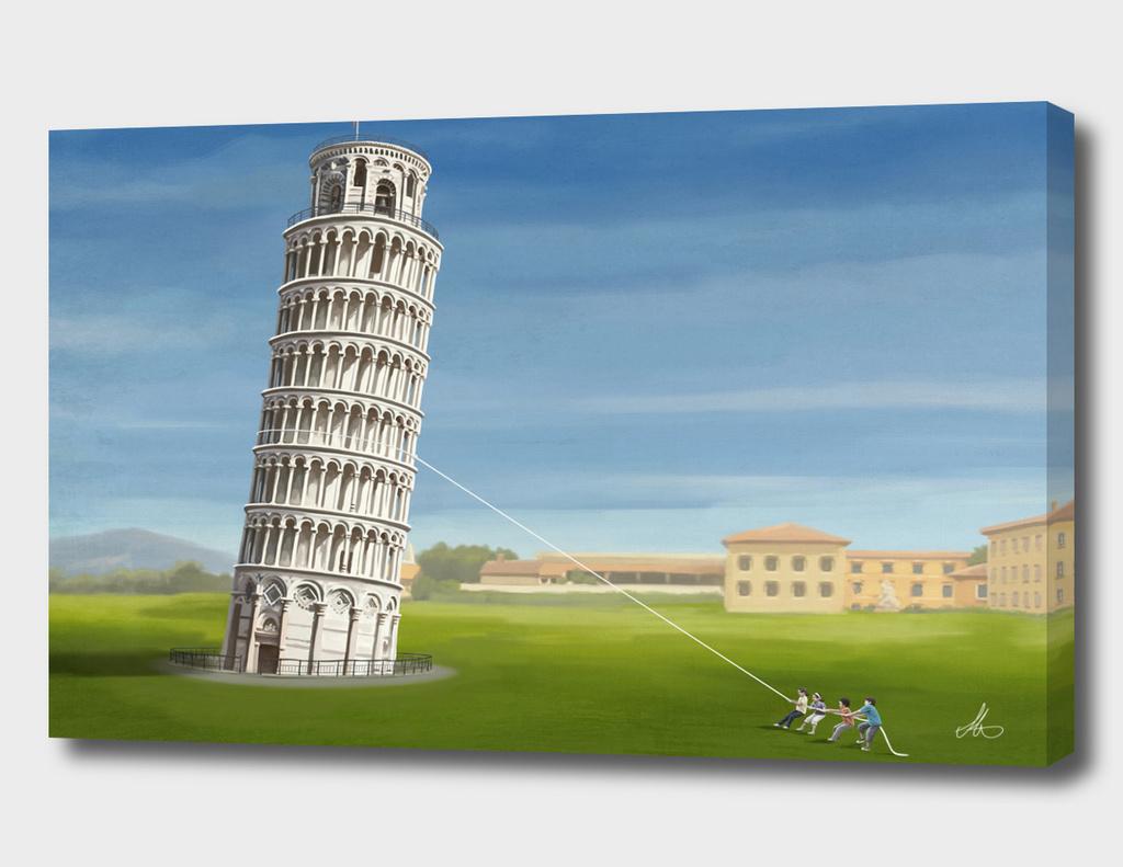 Pulling Pisa