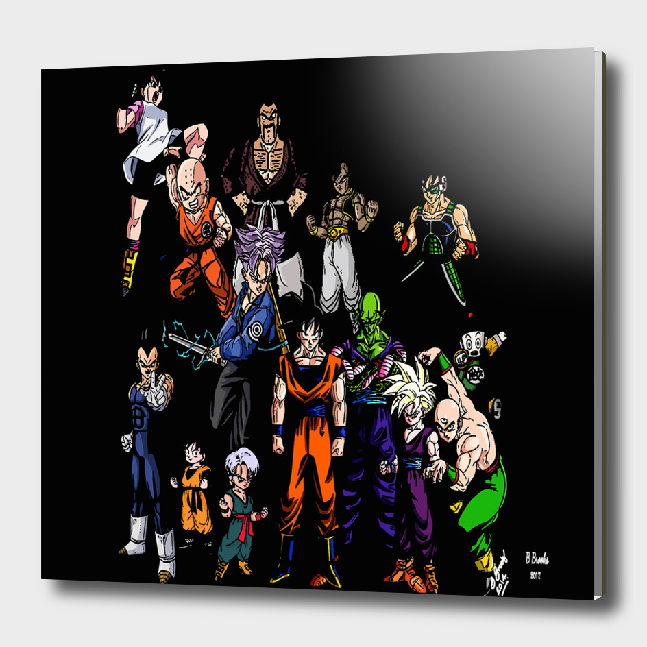 Dragonball Z collage Collage