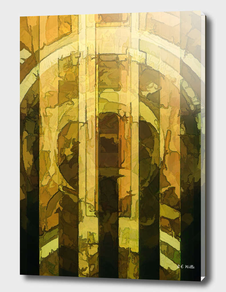 Golden Bars of Sunlight