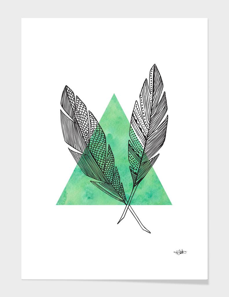 Quills - Green