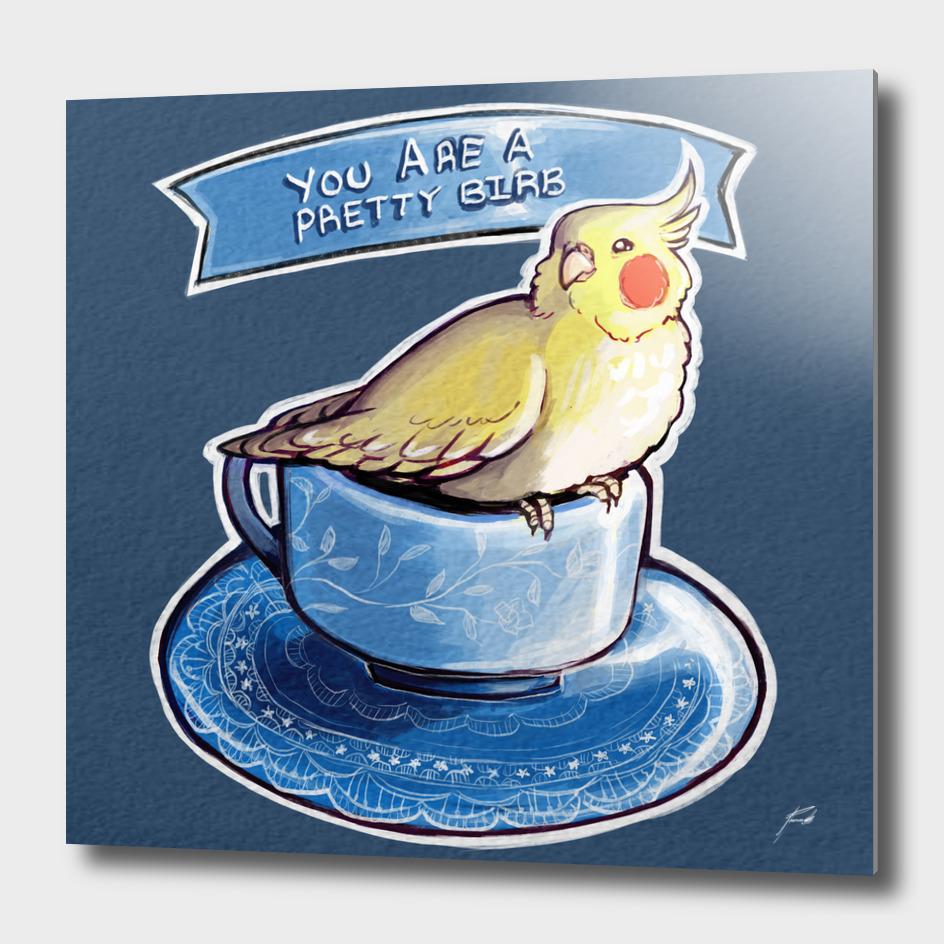 Pretty Birb Teacup