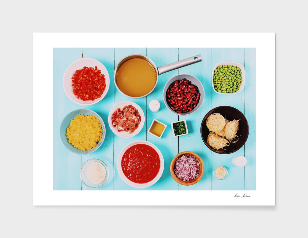 Food Ingredients For Minestrone Soup Recipe