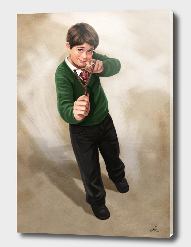 Slingshot Boy
