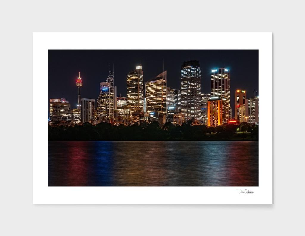 Sydney Skyline by Night