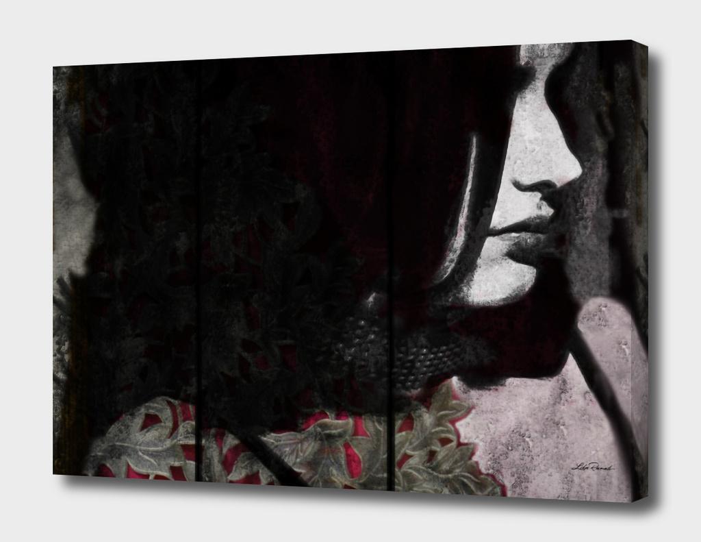 Black and White lace by Lika Ramati
