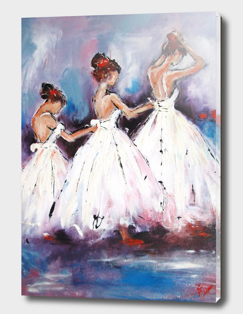 3 ballerina girls