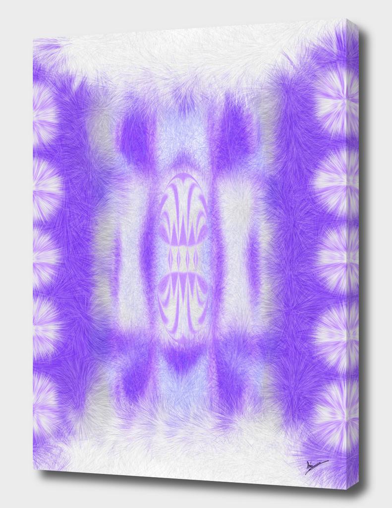 white to purple