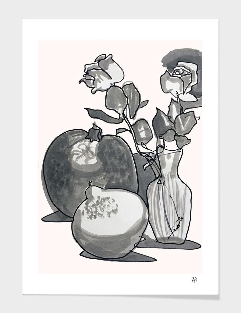 Rose and Squash