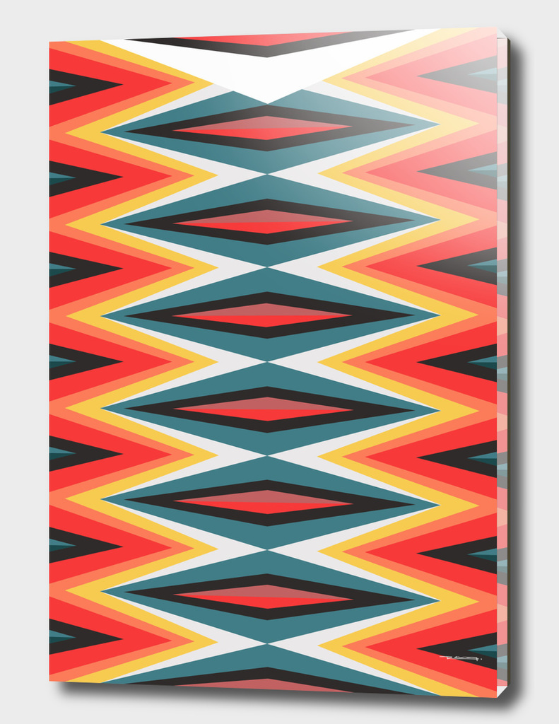 Fire abstract pattern illustration