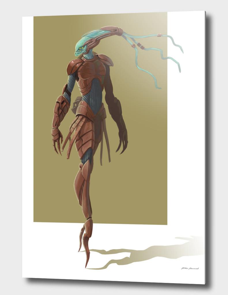 alien concept