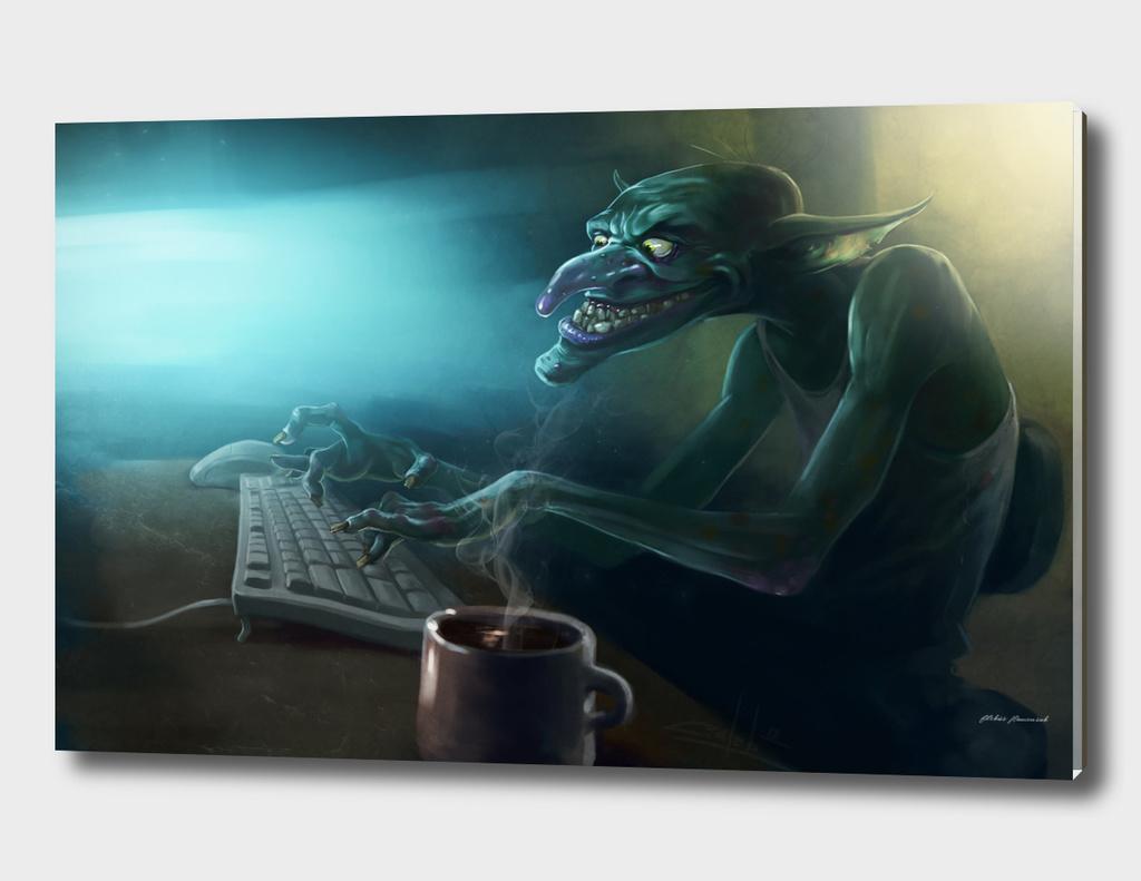 Troll on work