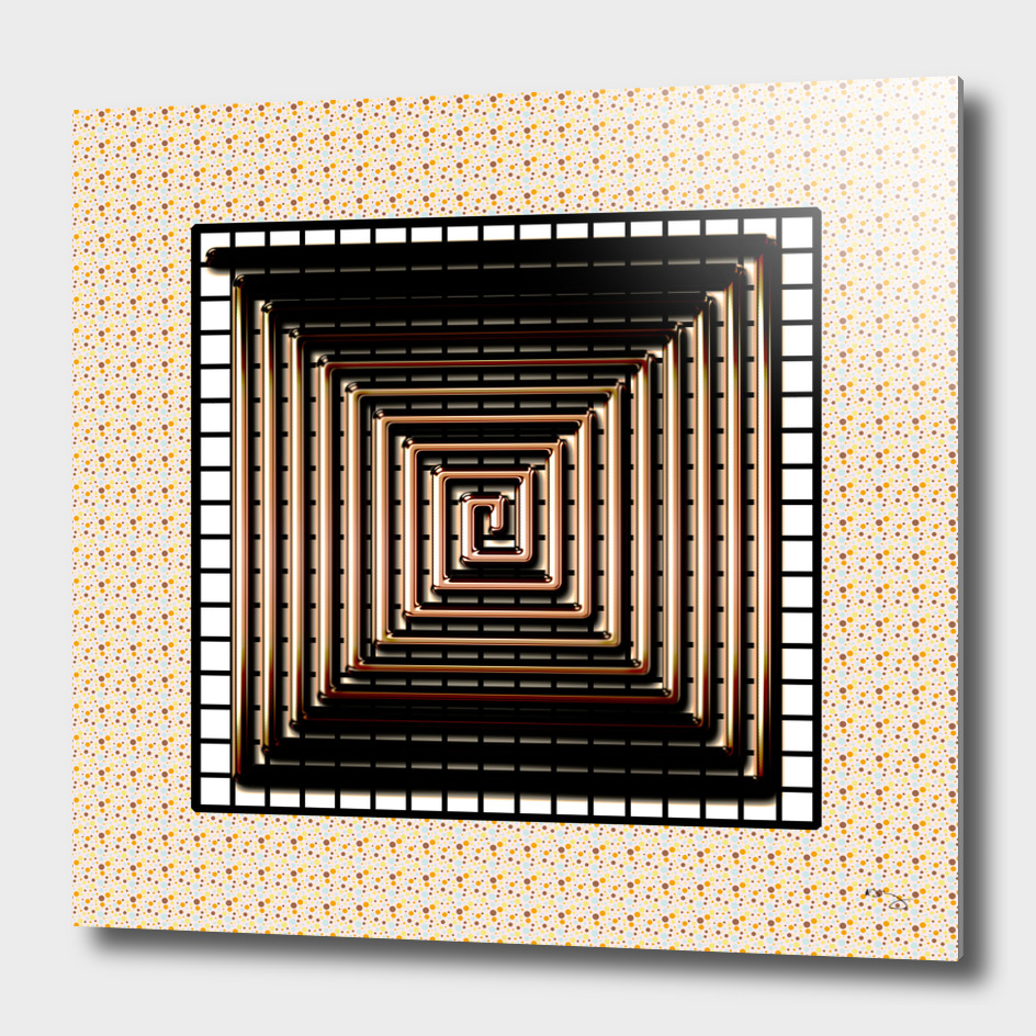 White Gold Maze