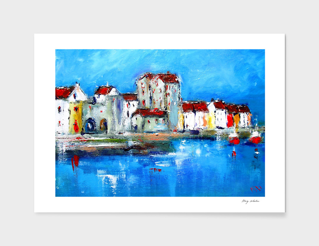 galway city painting