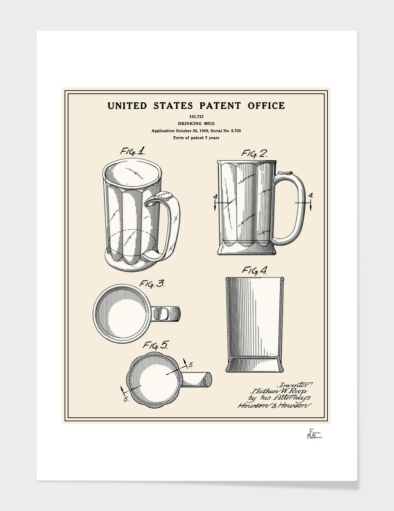 Beer Mug Patent