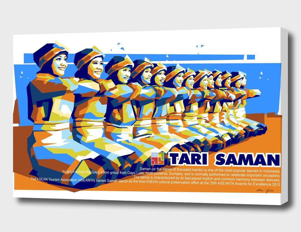 Saman Dance in WPAP