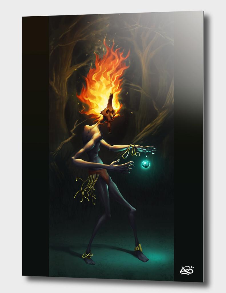 The forest sorcerer