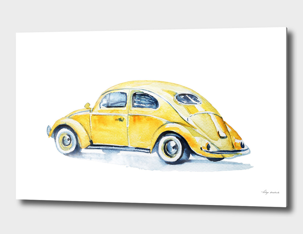 car yellow