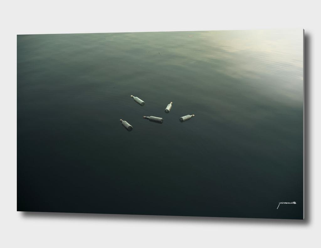 Floating still life