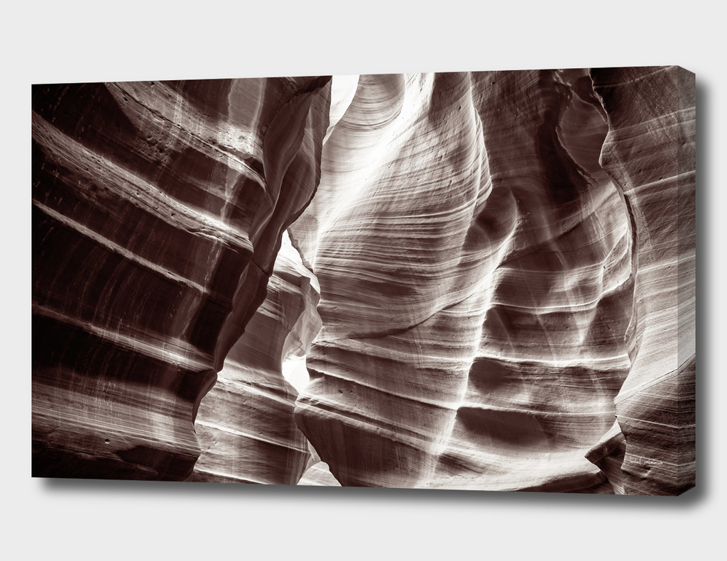 Waves of sandstone at Antelope Canyon