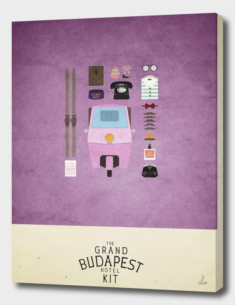 The Grand Budapest Hotel Kit