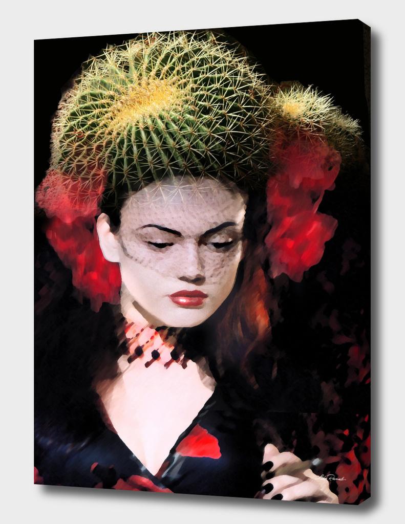 Cactus Flower by Lika Ramati