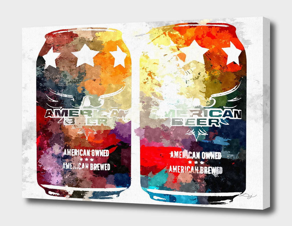 American Beer Cans
