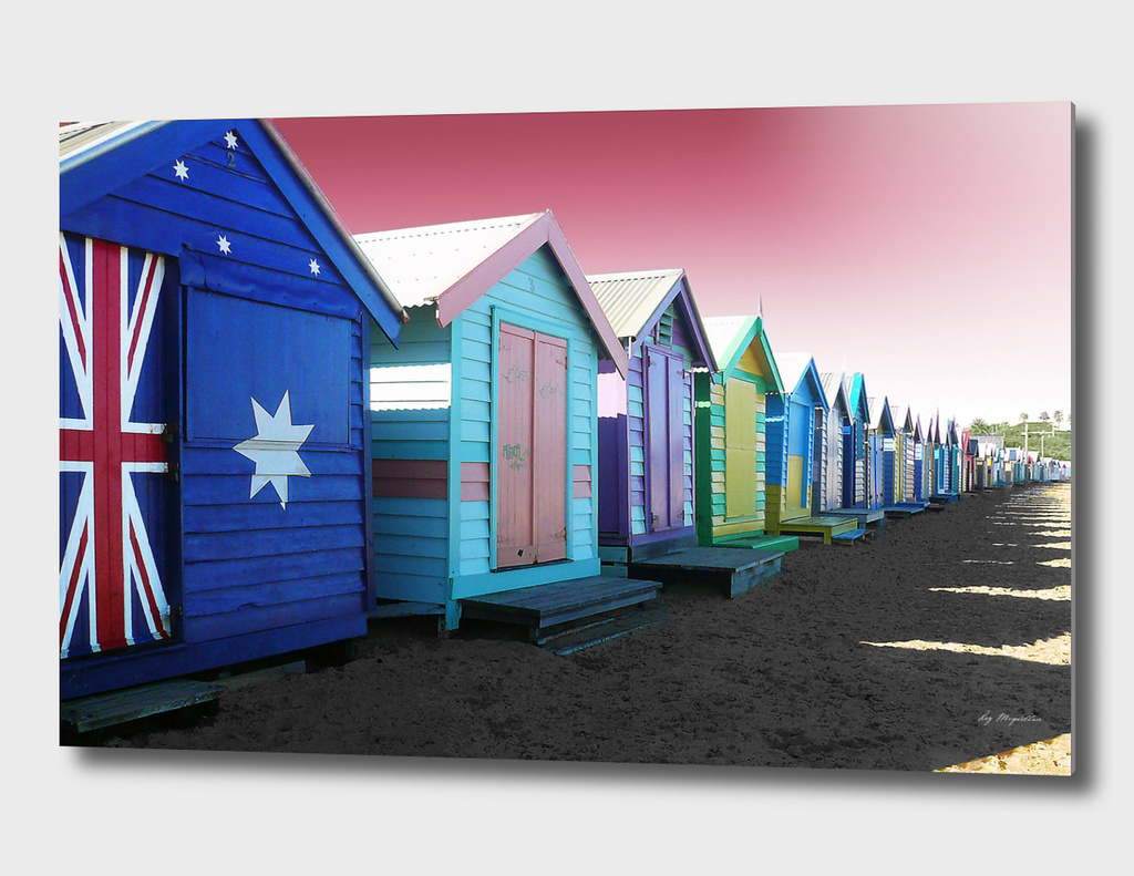 Bathing Boxes, Brighton Beach
