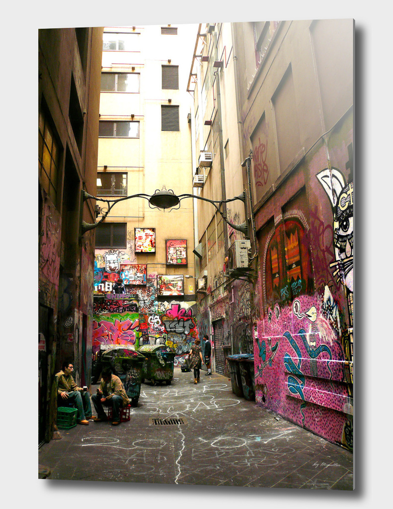 Graffiti lane, Melbourne