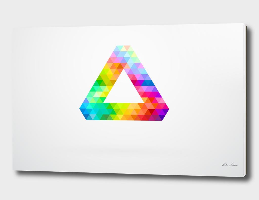 Penrose Triangle Spectrum