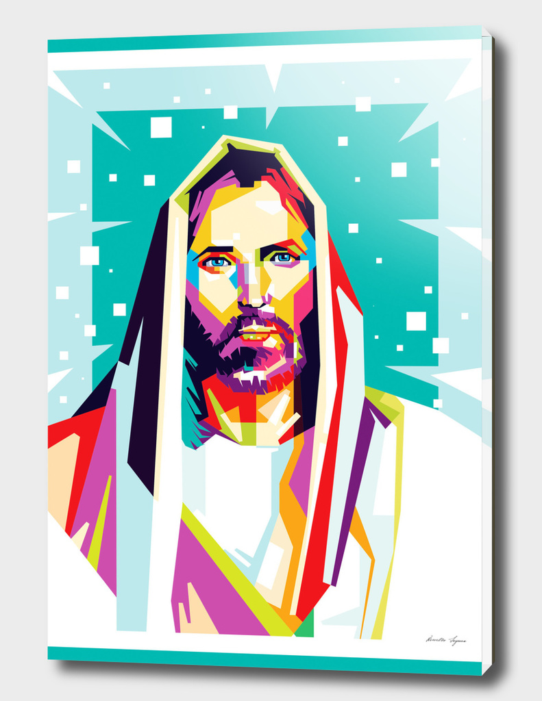 Jesus Christ in WPAP art