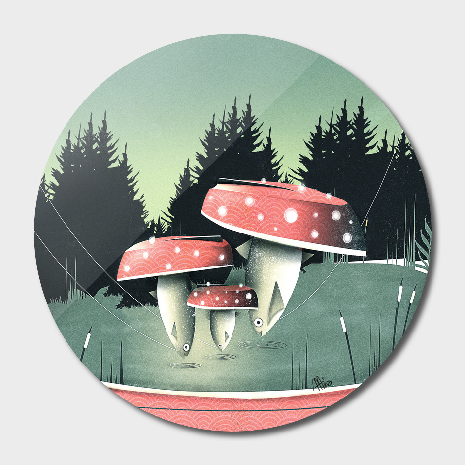 Fishing for Mushrooms