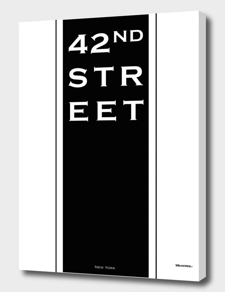 42nd Street - NYC