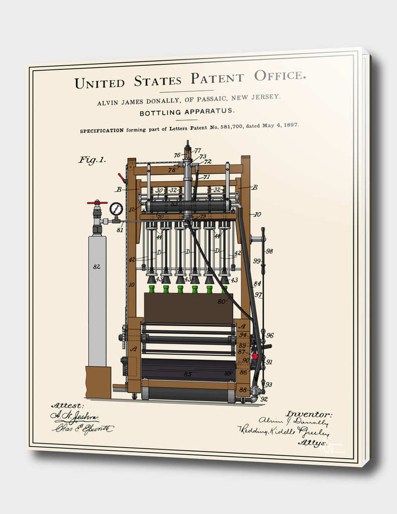 Beer Bottler Patent