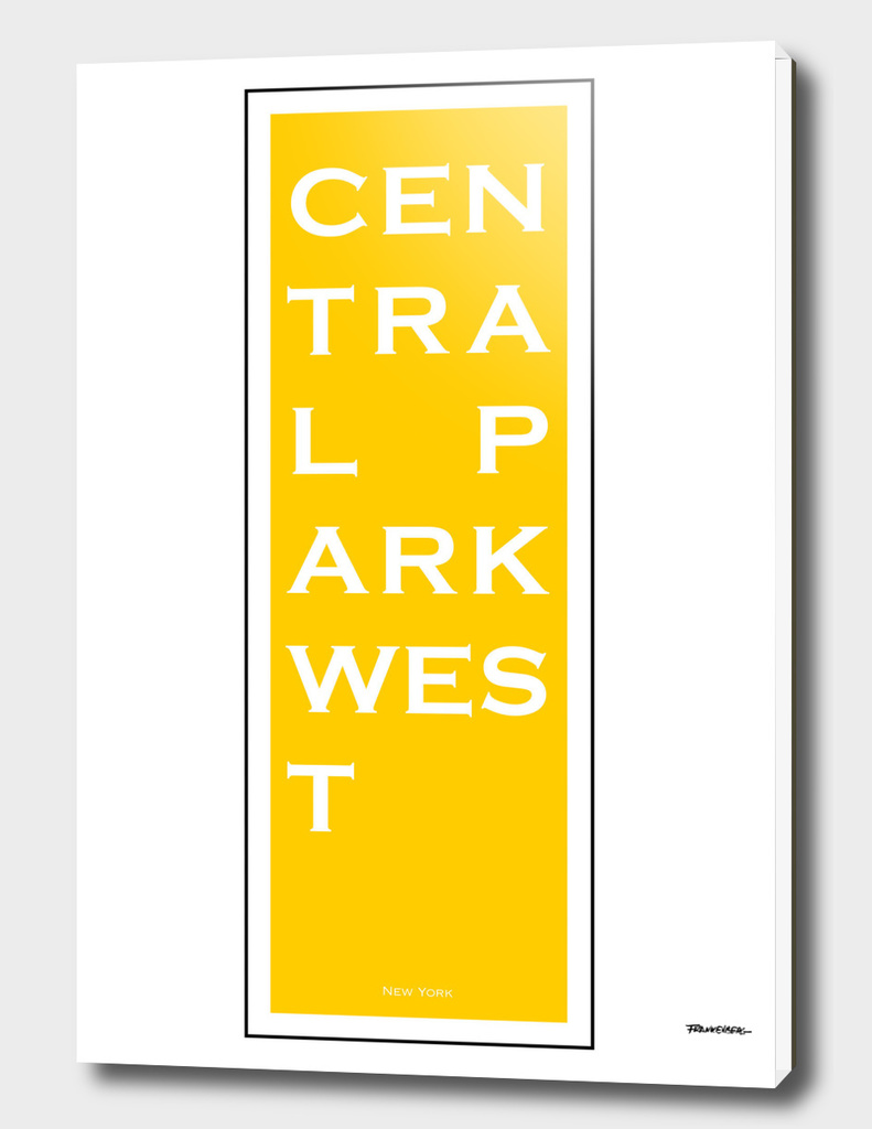 Central Park West - Yellow - NYC
