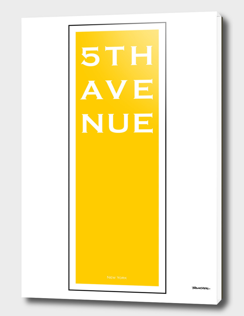 5th Avenue - Yellow - NYC