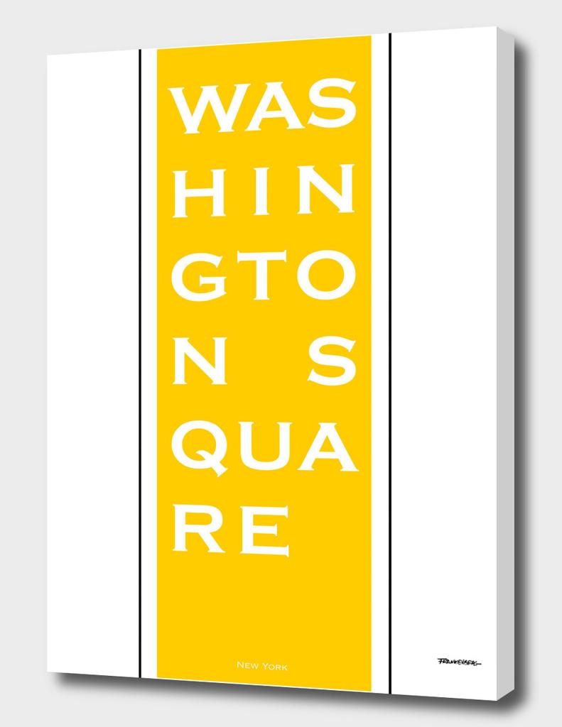 Washington Square - Yellow - NYC