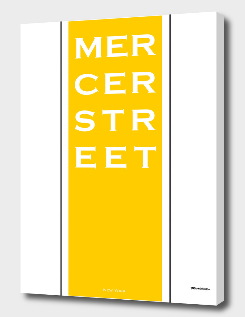 Mercer Street - Yellow - NYC