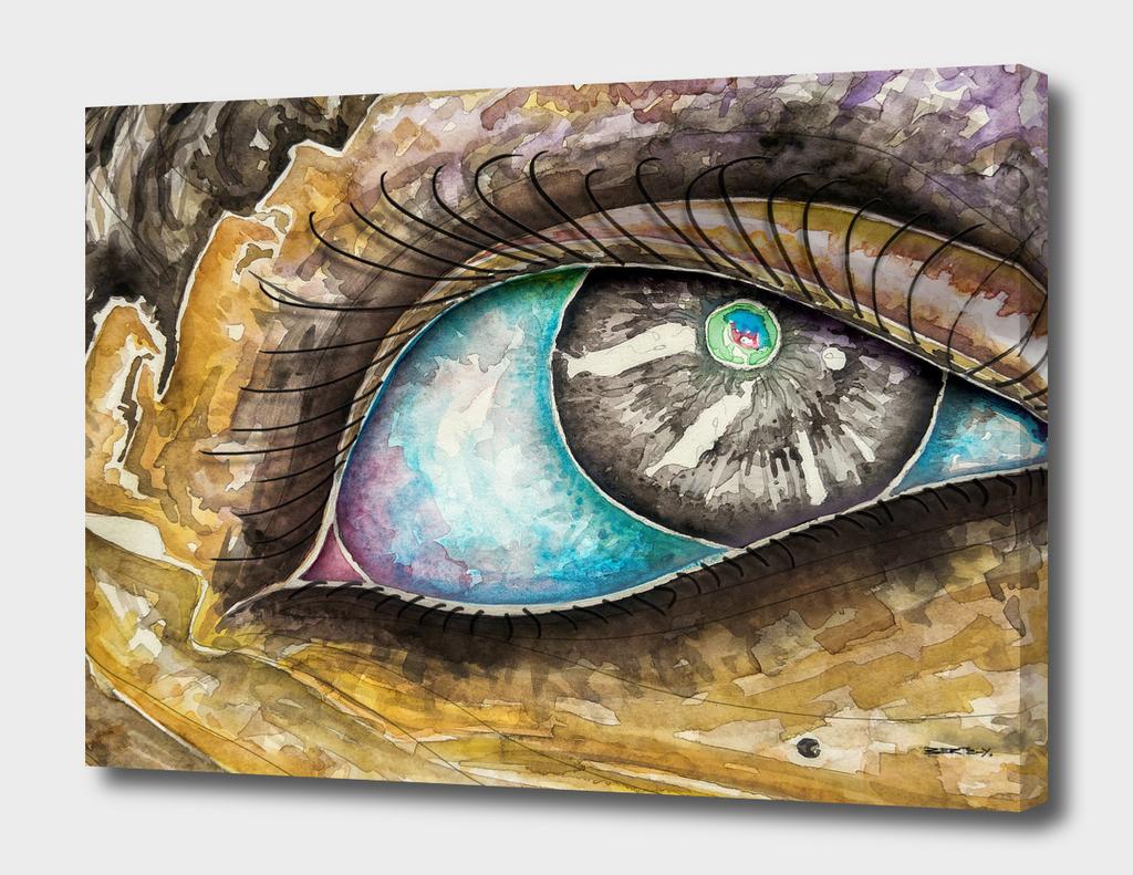 Watercolor Eye A-1
