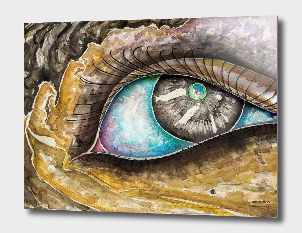 Watercolor Eye A-1