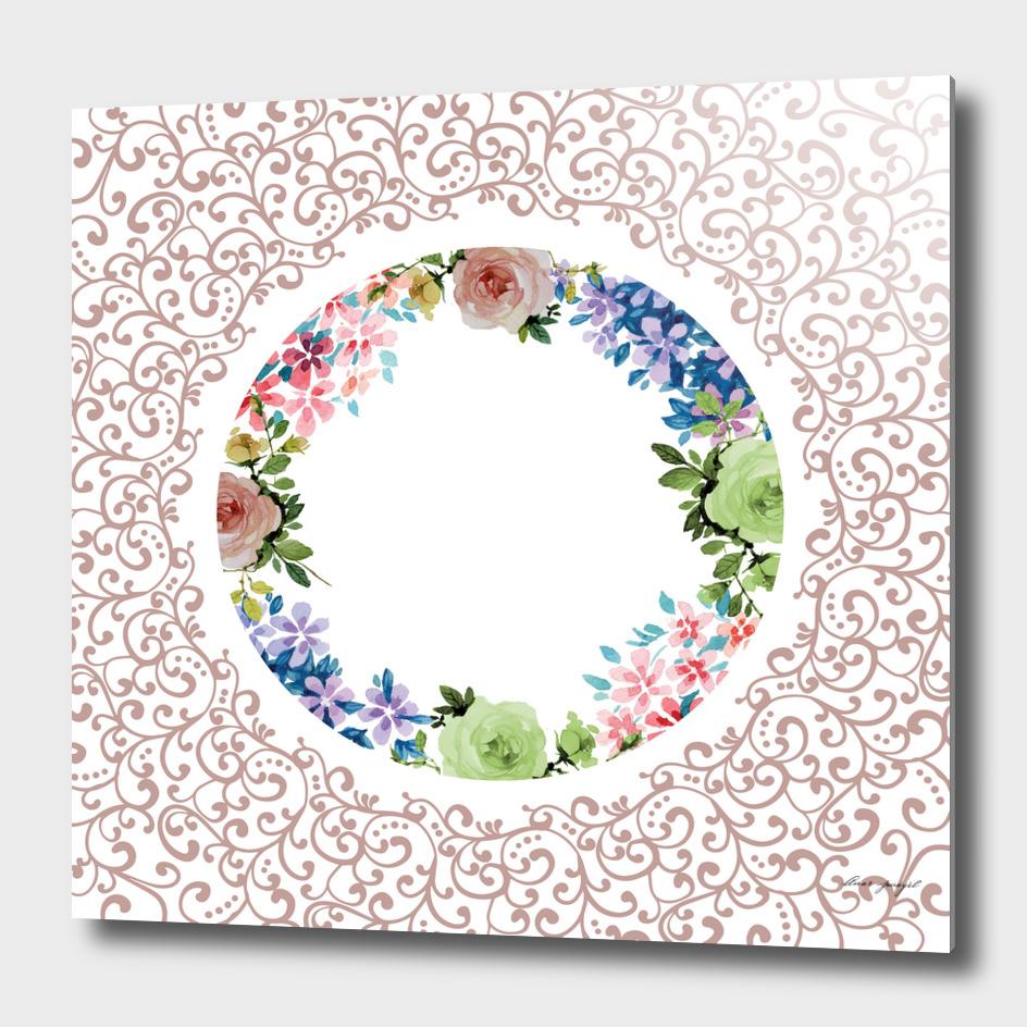 Ornamental floral decoration