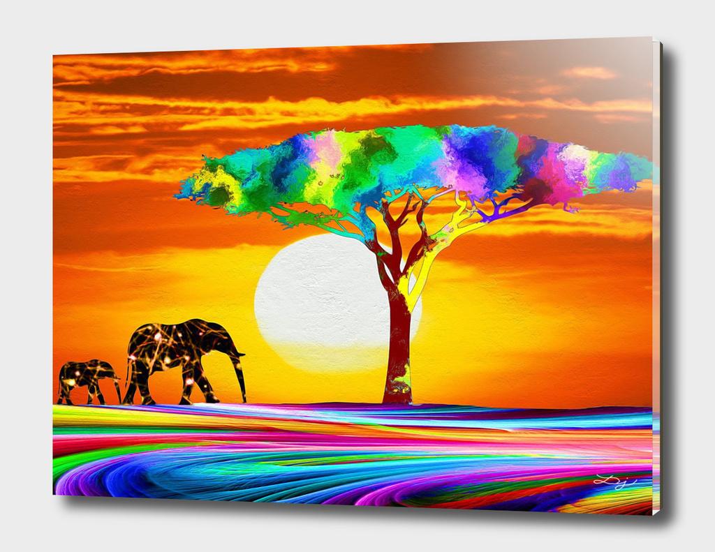 African Sundown