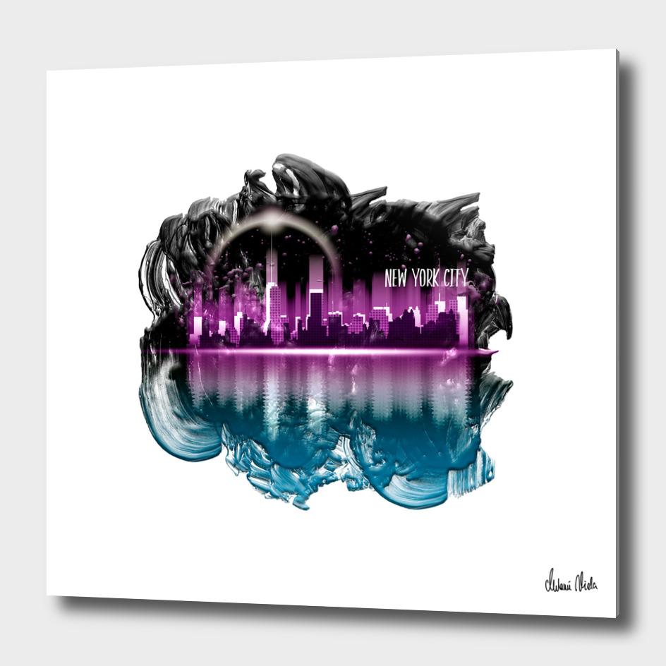 Graphic Art | A Dream of New York City no. 4