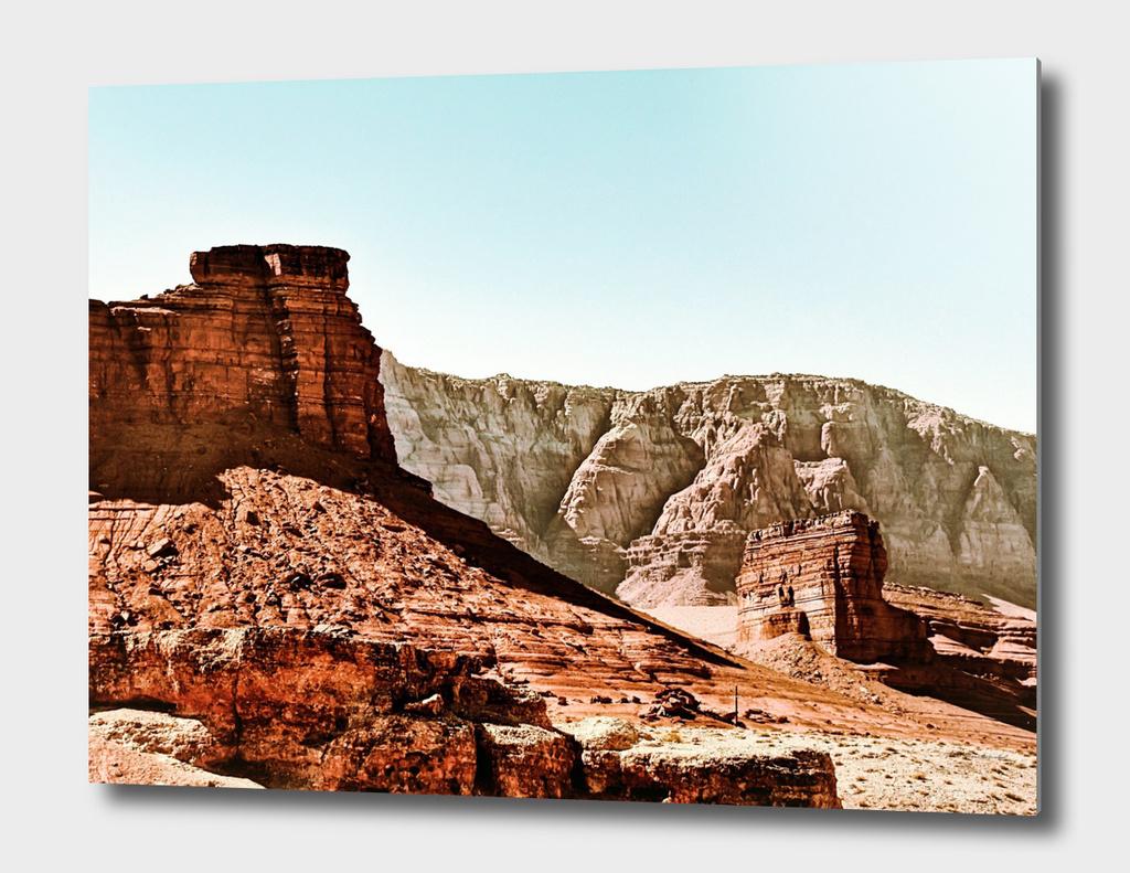 road trip to the desert at Utah, USA