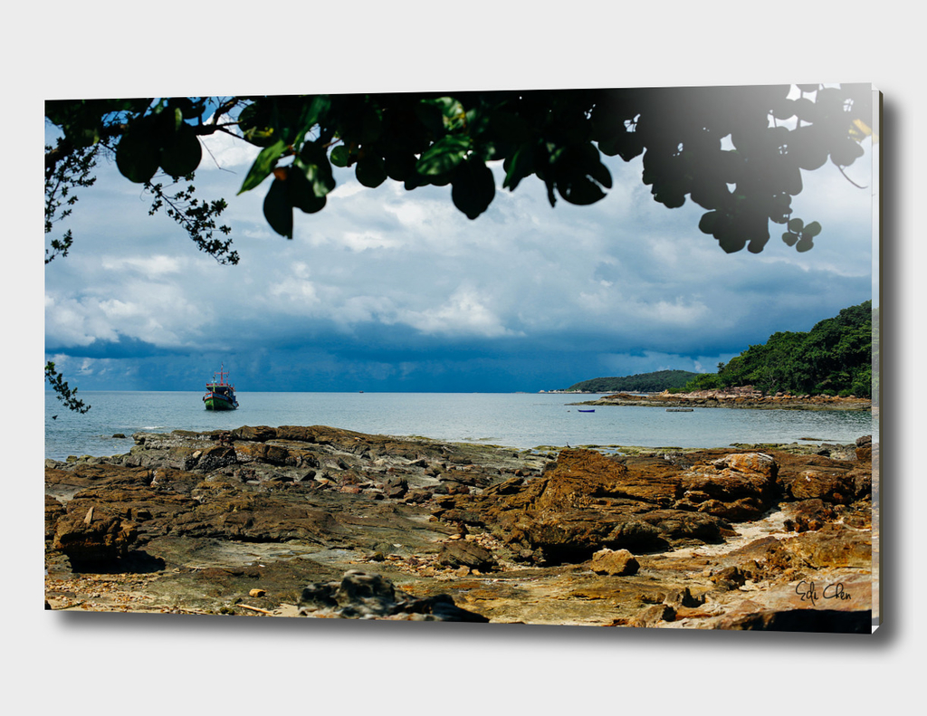 Before storm in Koh Samet Thailand