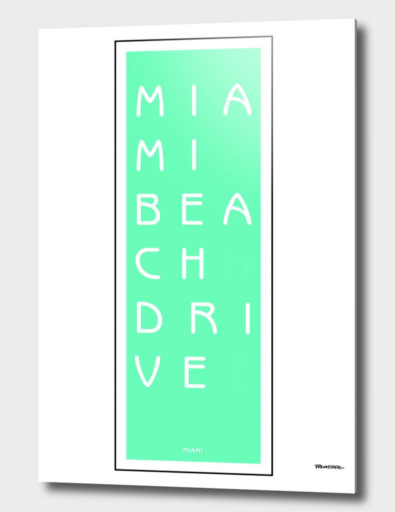Miami Beach Drive - Miami