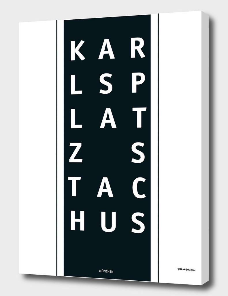 Karlsplatz Stachus - München