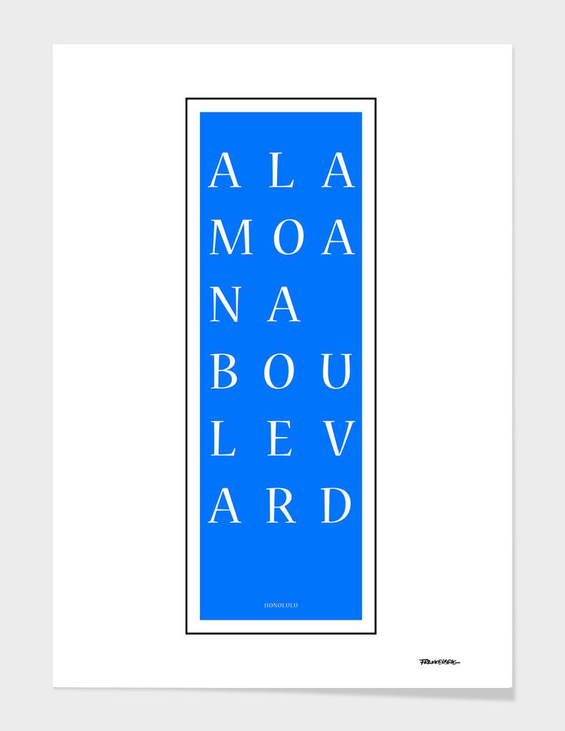Ala Moana Boulevard - Honolulu