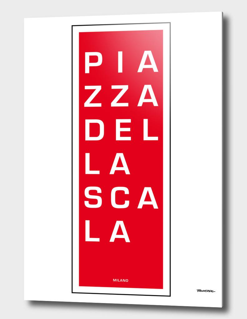 Piazza del la Scala - Milano