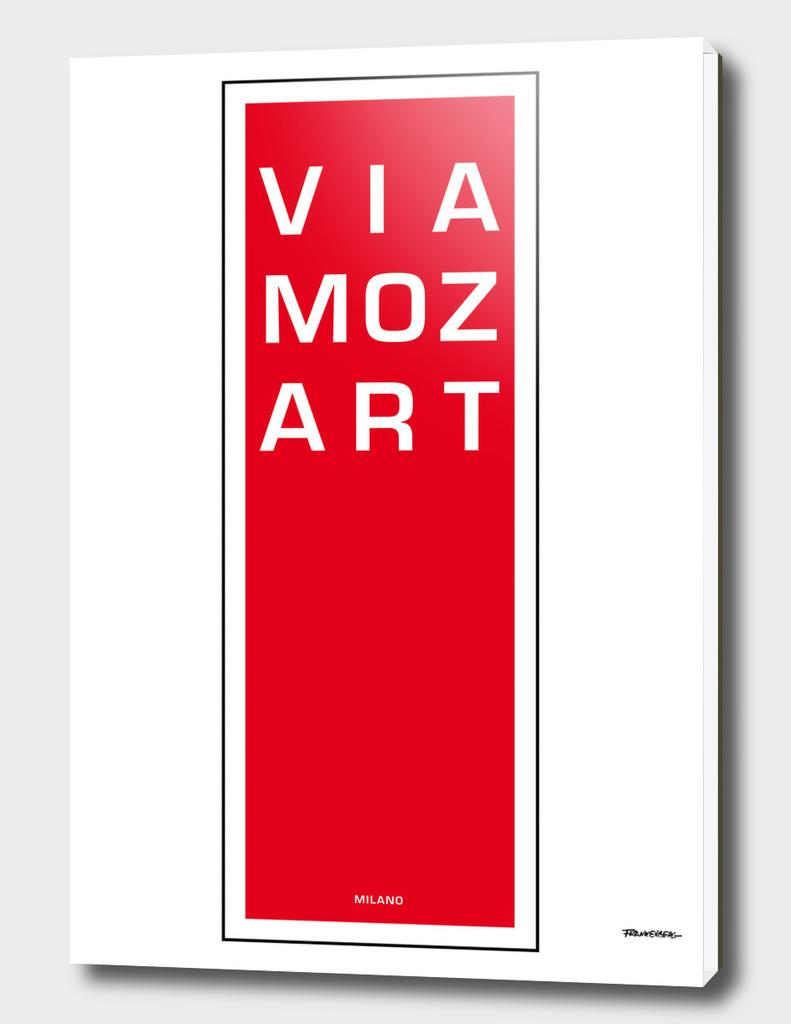 Via Mozart - Milano